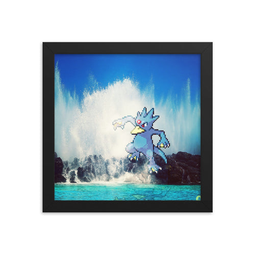 Pixelmon Framed poster - Golduck