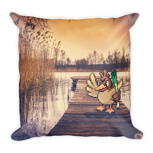 Pixelmon Square Pillow - Farfetchd