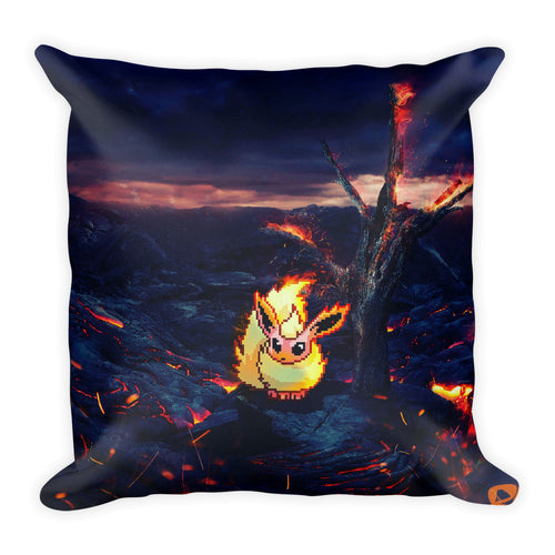 Pixelmon Square Pillow - Flareon