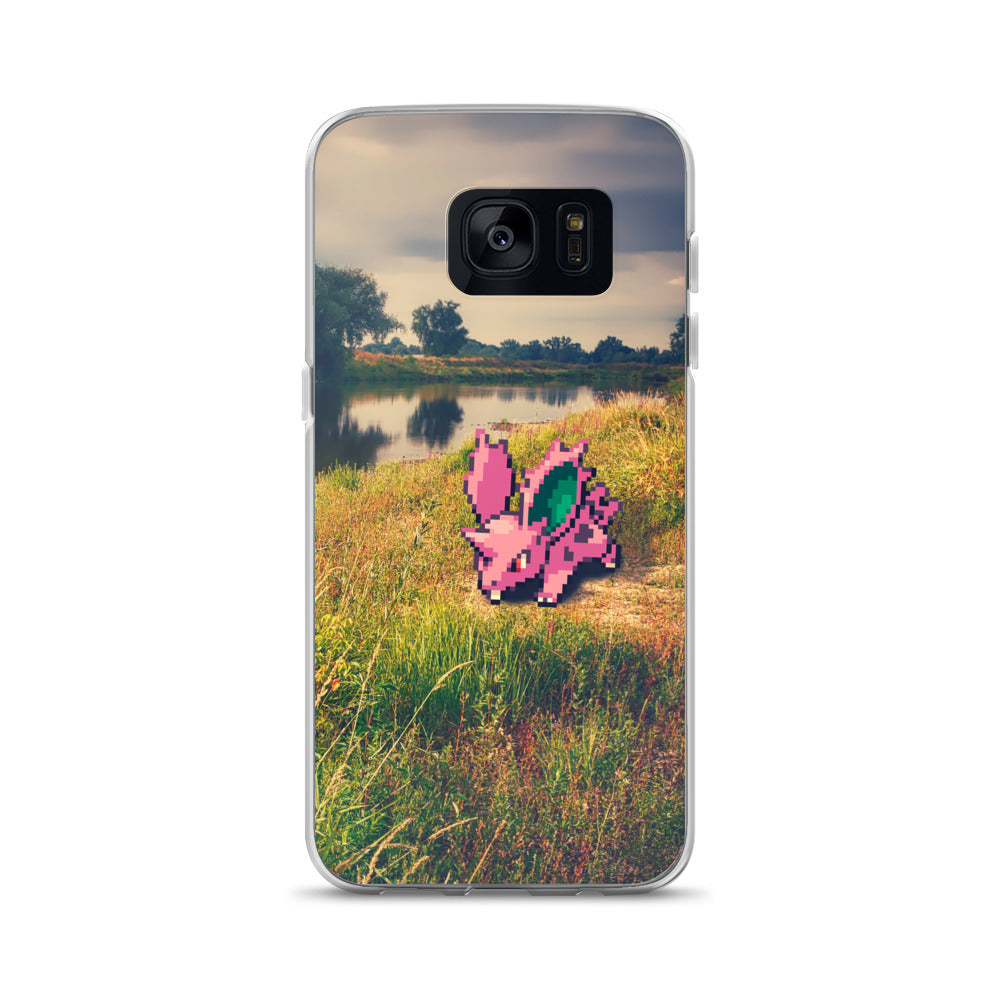 Pixelmon Samsung Case - Nidoran_male