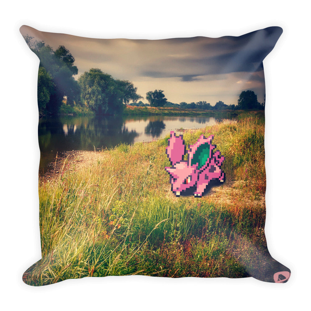 Pixelmon Square Pillow - Nidoran_male