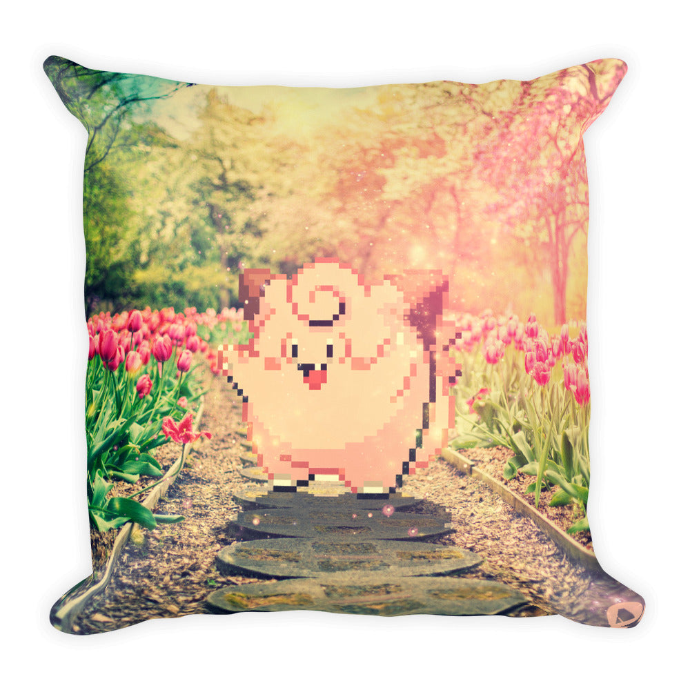 Pixelmon Square Pillow - Clefairy