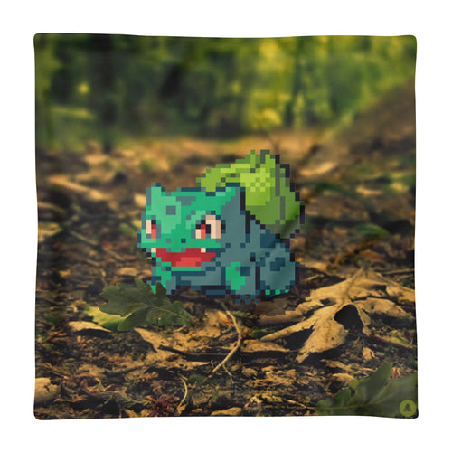 Pixelmon Cushion Cover - Bulbasaur