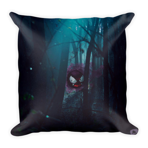 Pixelmon Square Pillow - Ghastly