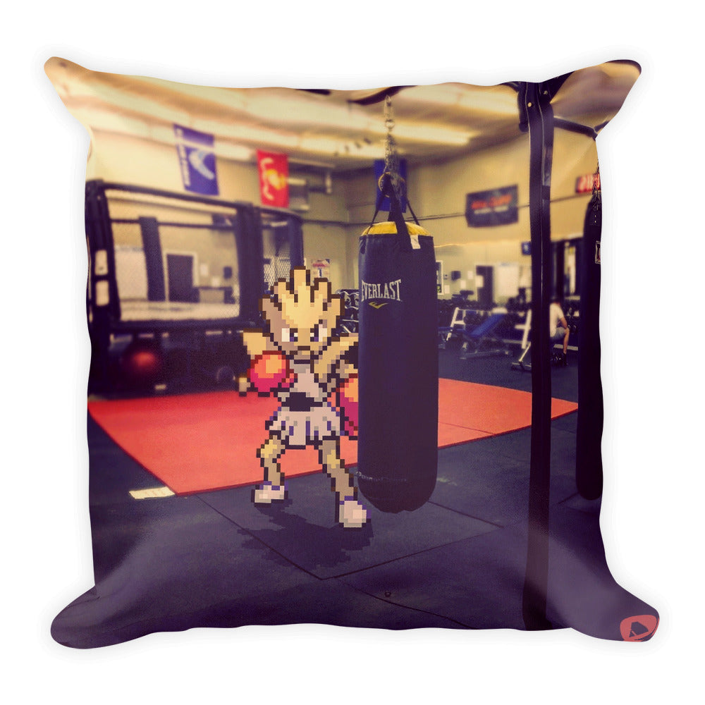 Pixelmon Square Pillow - Hitmonchan