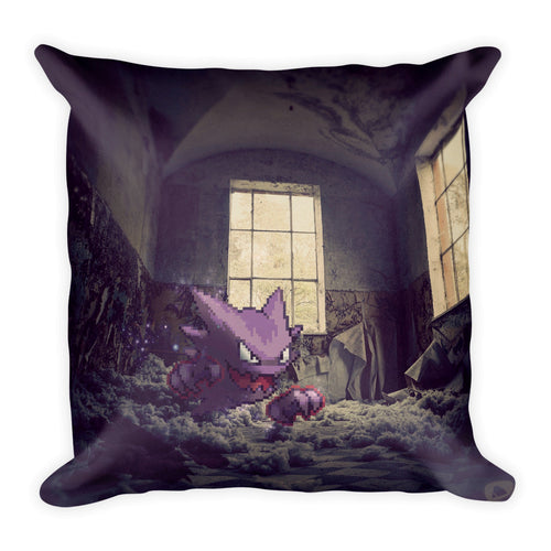 Pixelmon Square Pillow - Haunter