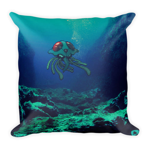 Pixelmon Square Pillow - Tentacruel