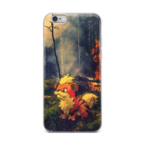 Pixelmon iPhone Case - Growlithe