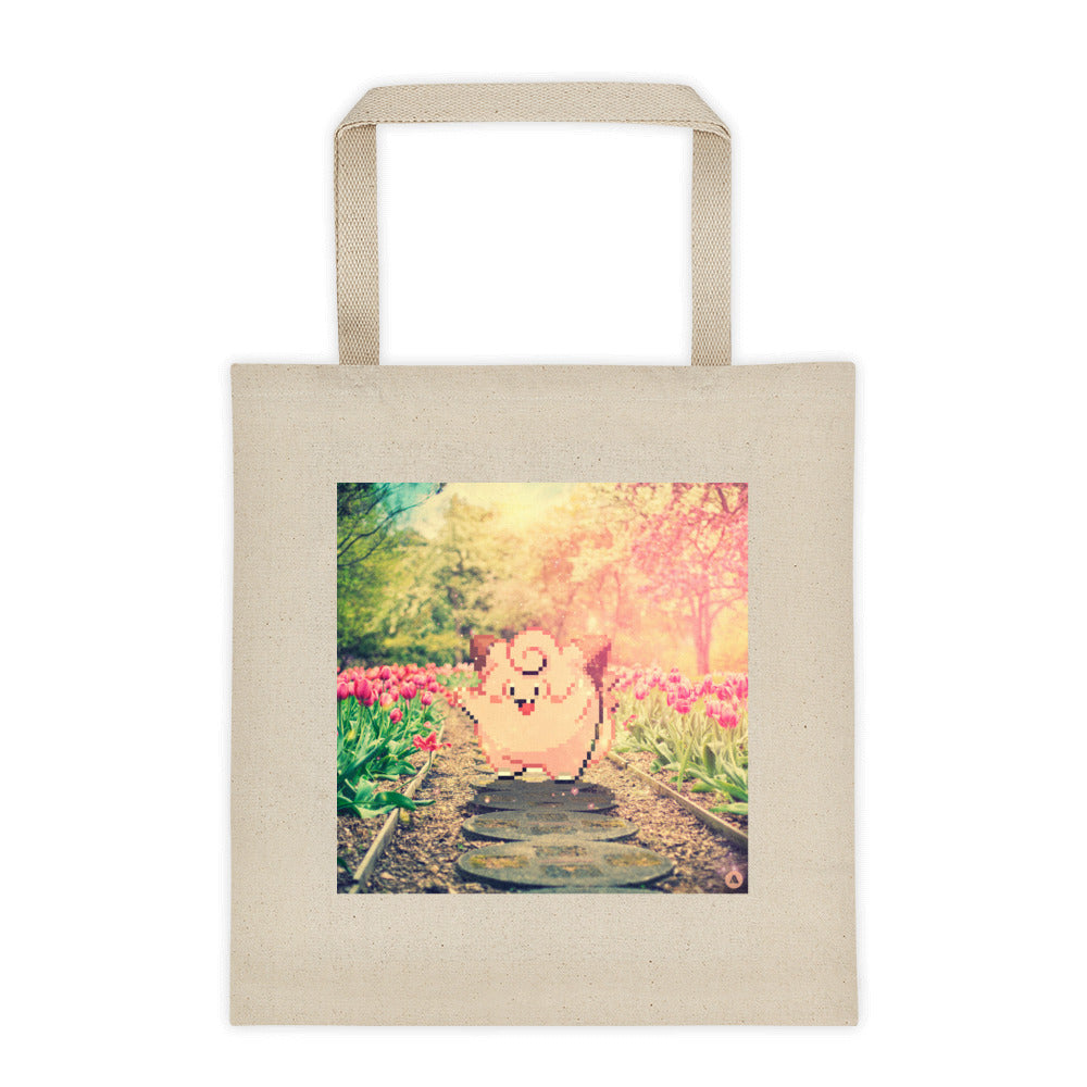 Pixelmon Tote Bag - Clefairy