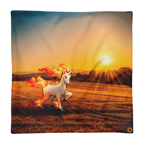 Pixelmon Cushion Cover - Rapidash