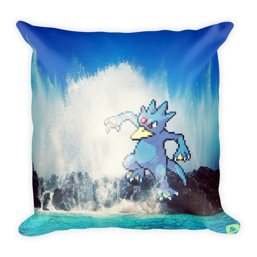 Pixelmon Square Pillow - Golduck