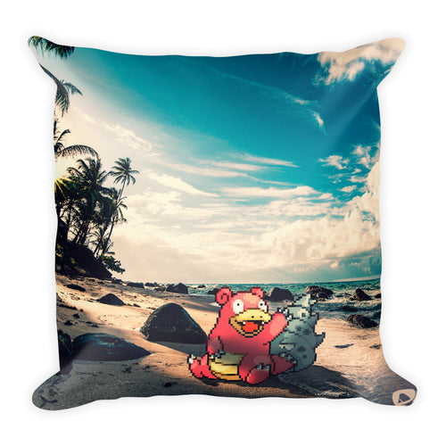 Pixelmon Square Pillow - Slowbro