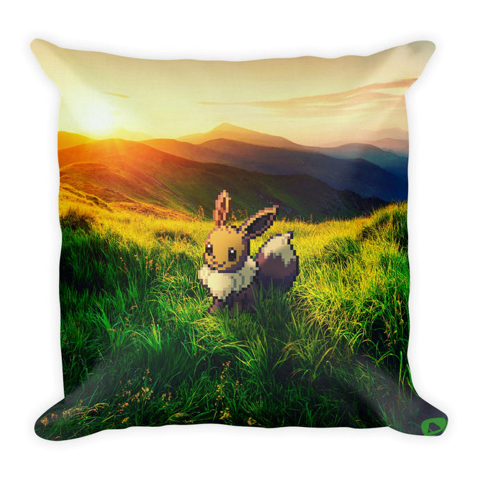 Pixelmon Square Pillow - Eevee