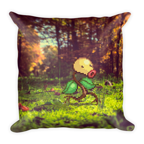 Pixelmon Square Pillow - Bellsprout