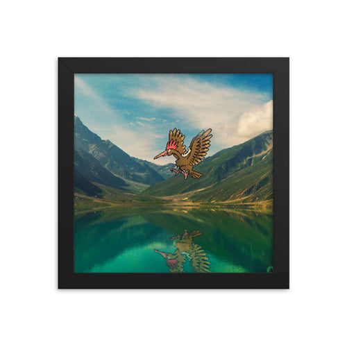 Pixelmon Framed poster - Fearow