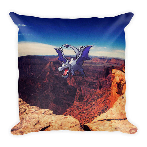 Pixelmon Square Pillow - Aerodactyl
