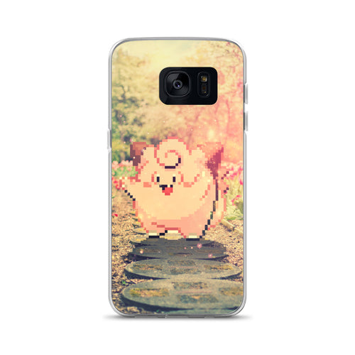 Pixelmon Samsung Case - Clefairy