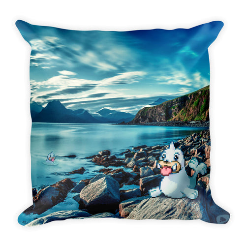 Pixelmon Square Pillow - Seel