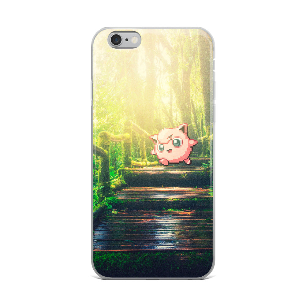 Pixelmon iPhone Case - Jigglypuff