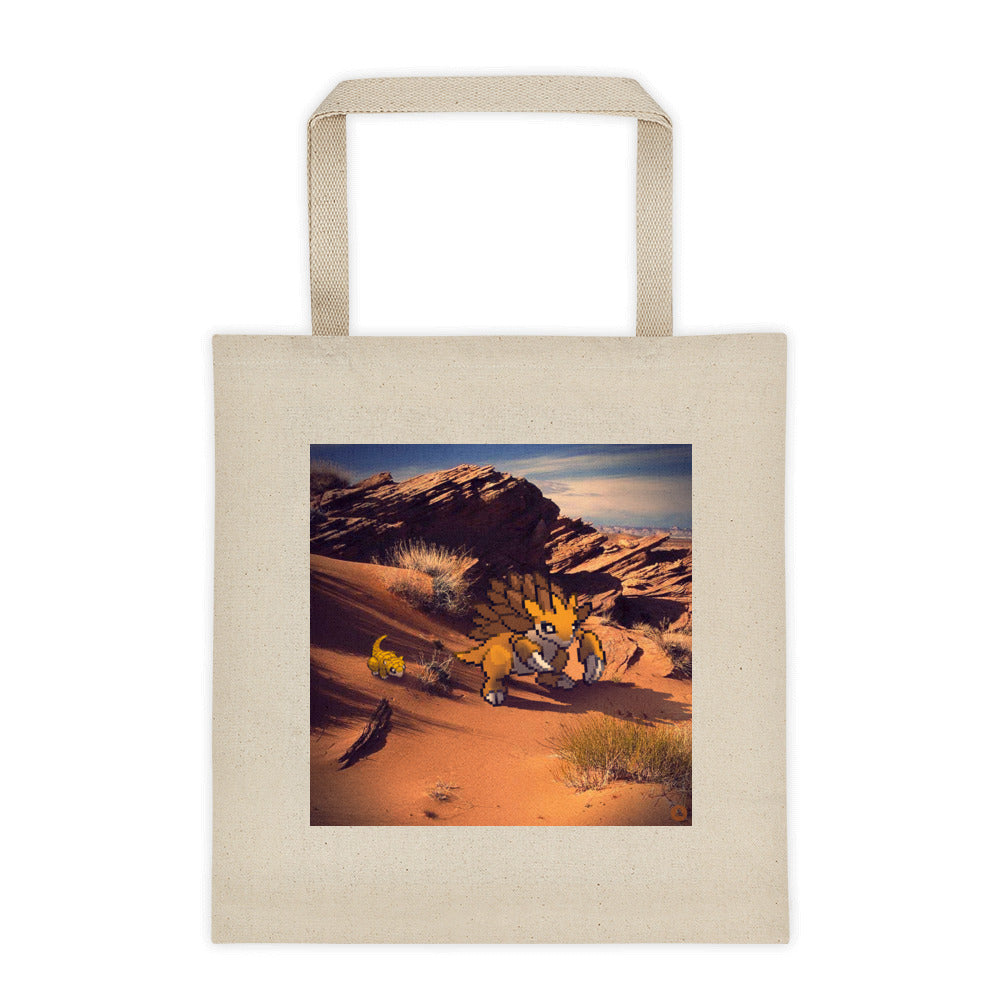 Pixelmon Tote Bag - Sandslash