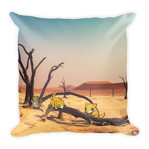 Pixelmon Square Pillow - Sandshrew