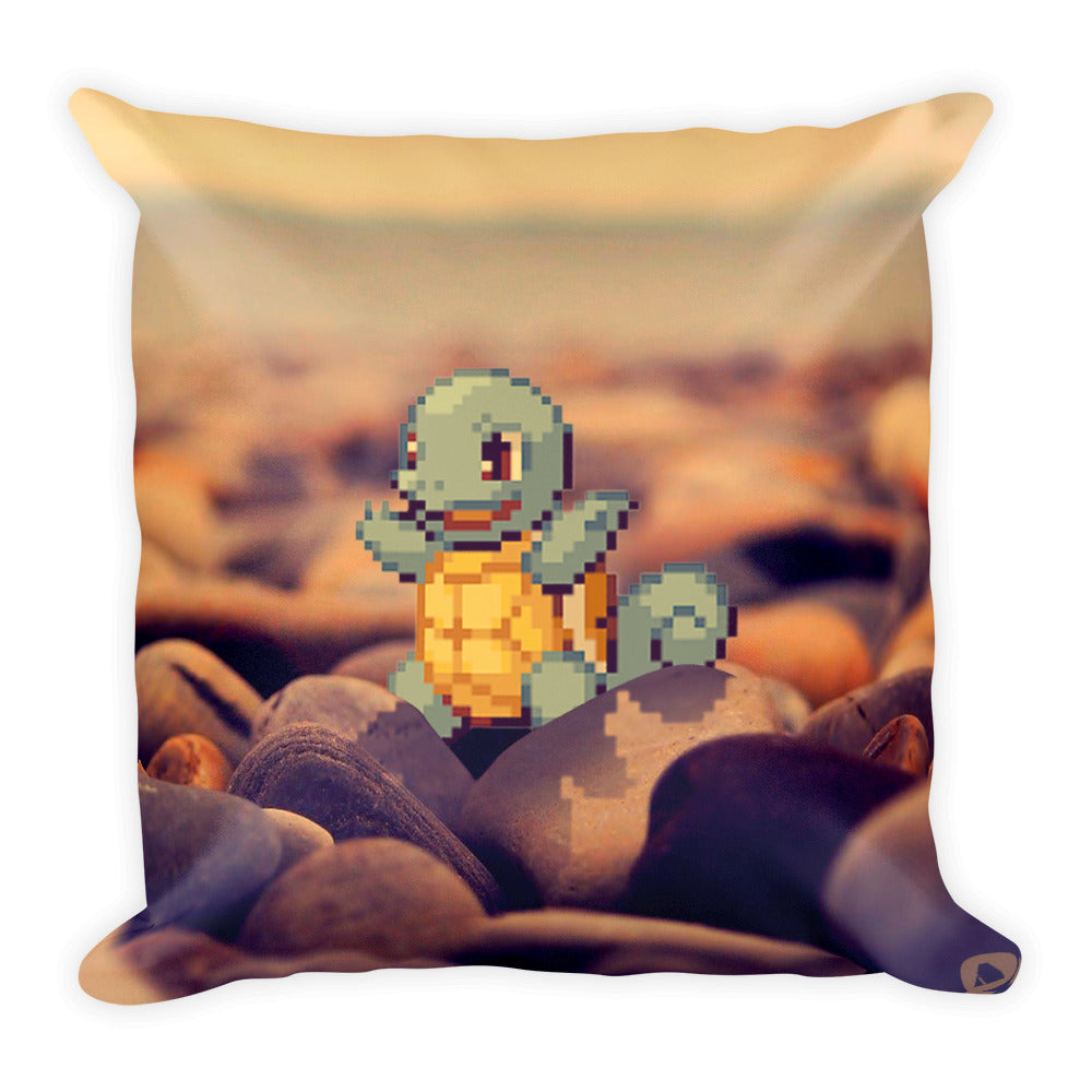 Pixelmon Square Pillow - Squirtle