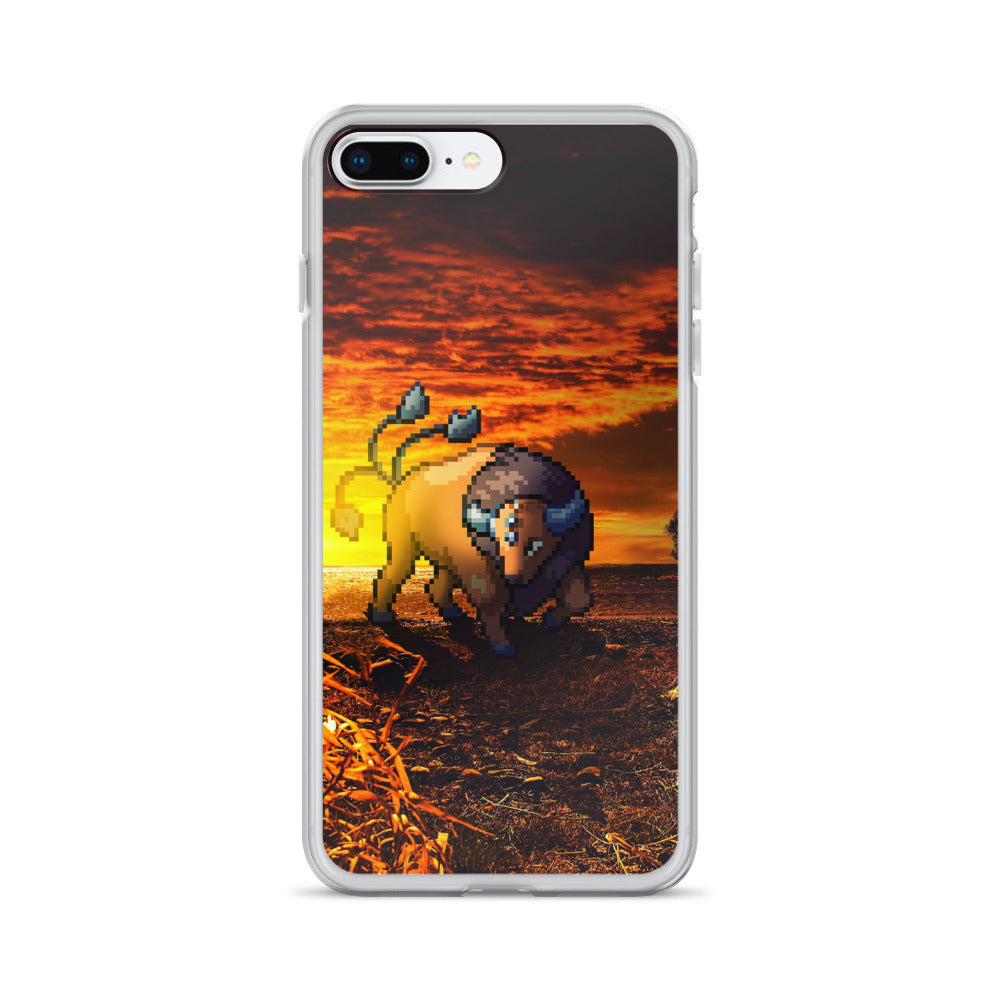 Pixelmon iPhone Case - Tauros