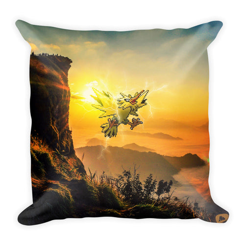 Pixelmon Square Pillow - Zapdos