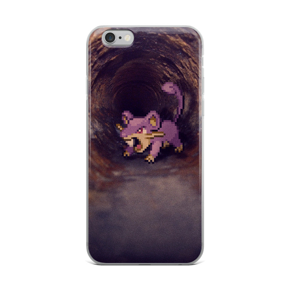 Pixelmon iPhone Case - Rattata