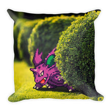 Pixelmon Square Pillow - Nidorino