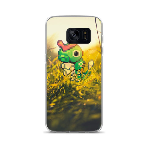 Pixelmon Samsung Case - Caterpie