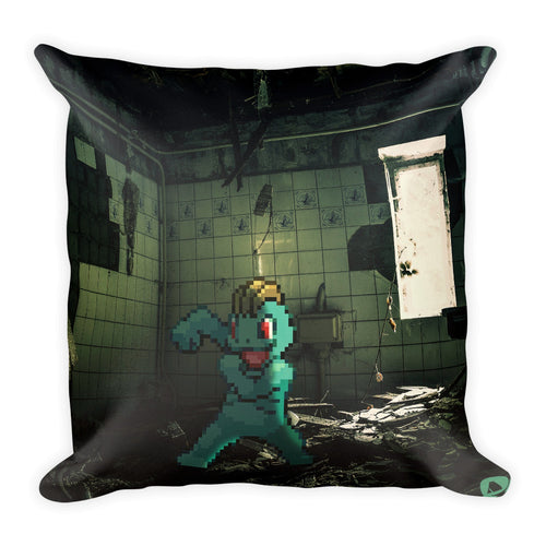 Pixelmon Square Pillow - Machop