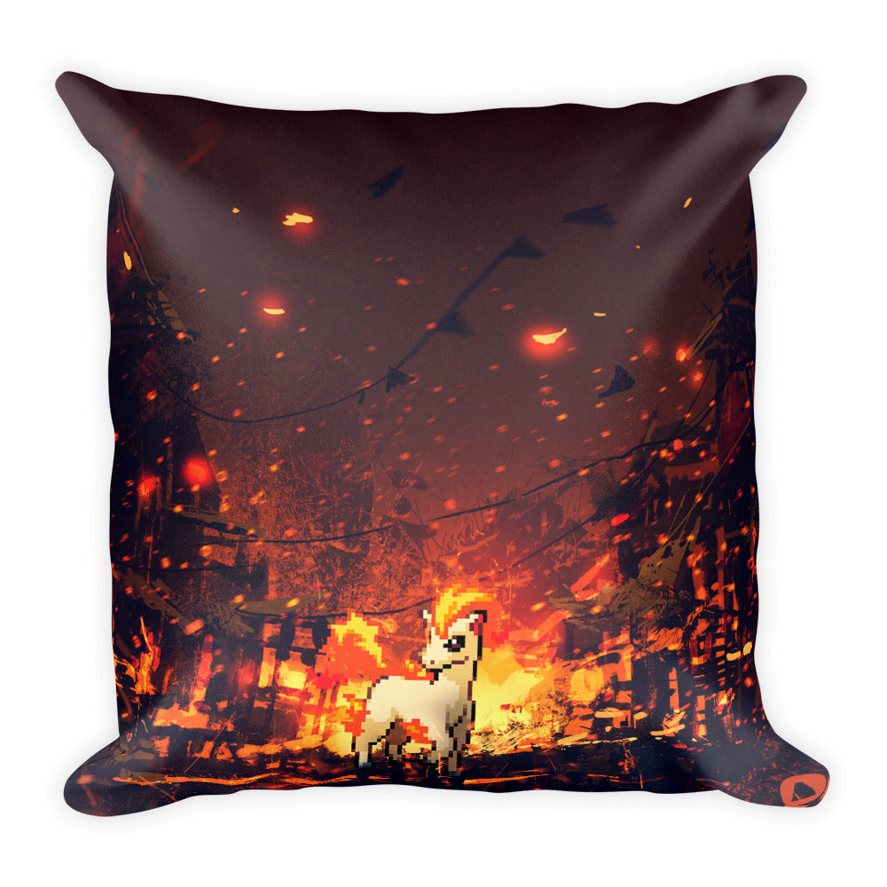 Pixelmon Square Pillow - Ponyta