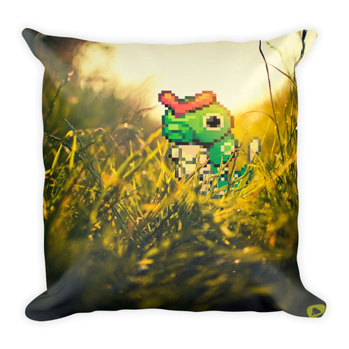 Pixelmon square pillow - caterpie
