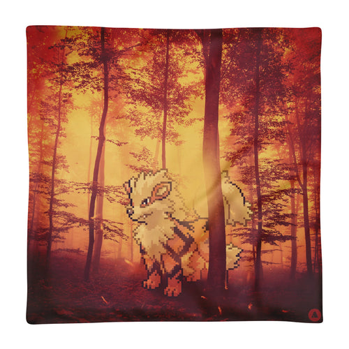 Pixelmon Cushion Cover - Arcanine