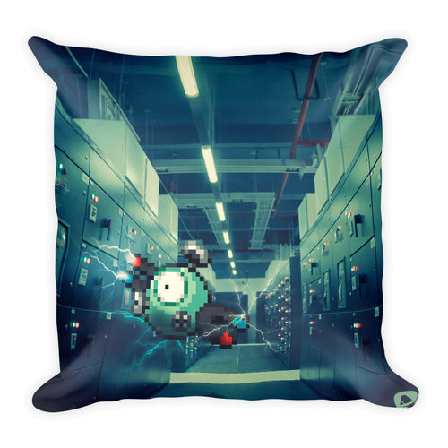 Pixelmon Square Pillow - Magnemite