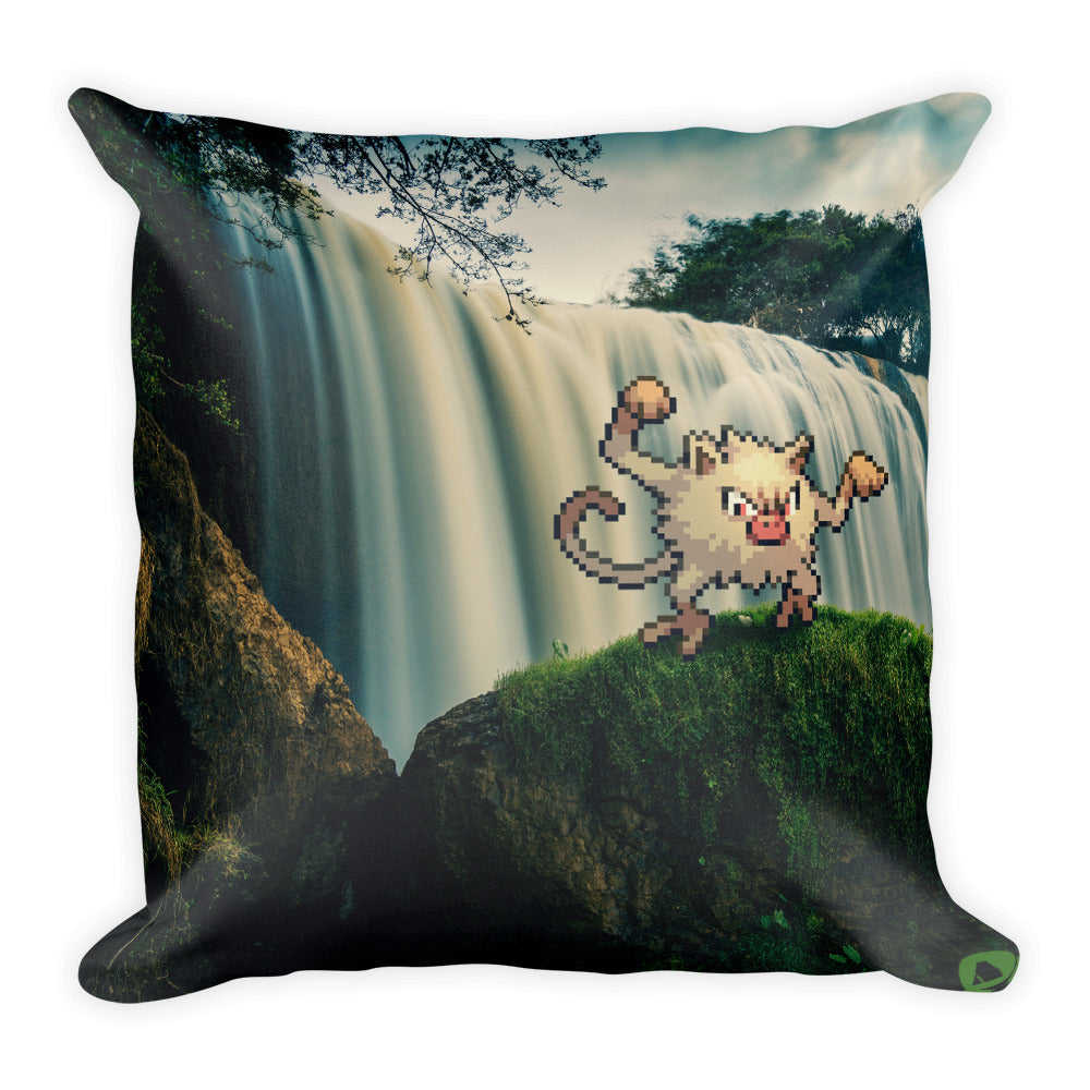 Pixelmon Square Pillow - Mankey