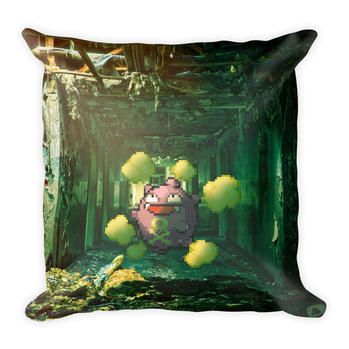 Pixelmon Square Pillow - Koffing