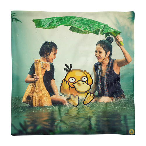 Pixelmon Cushion Cover - Psyduck