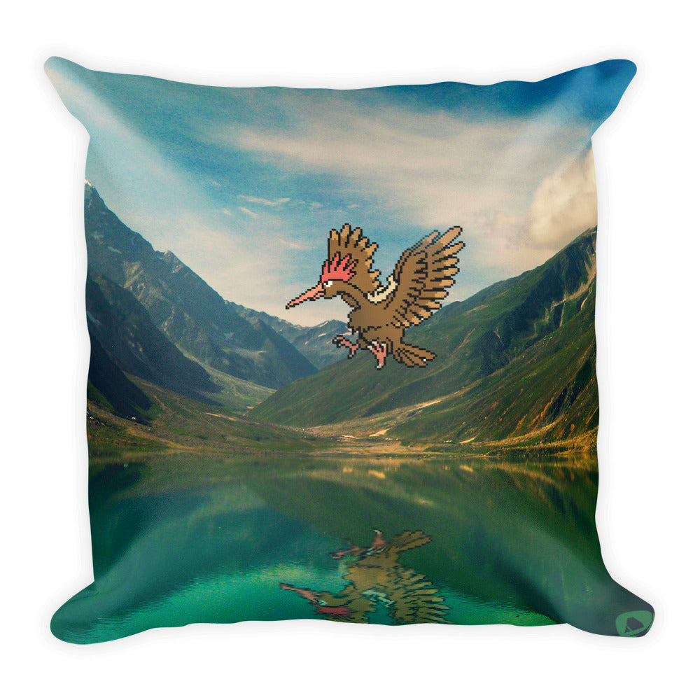 Pixelmon Square Pillow - Fearow
