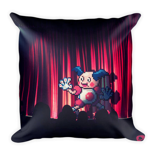 Pixelmon Square Pillow - Mrmime