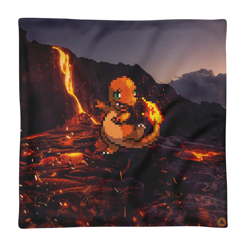 Pixelmon Cushion Cover - Charmander