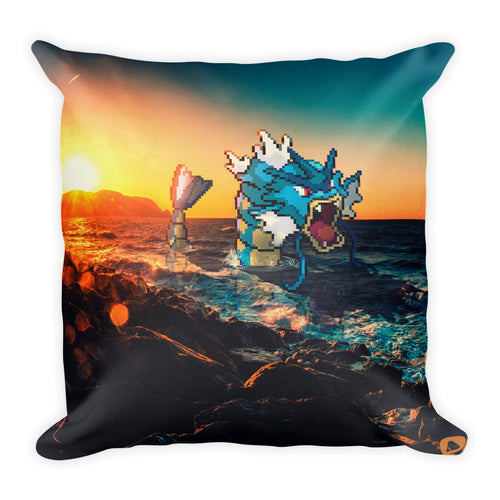 Pixelmon Square Pillow - Gyrados