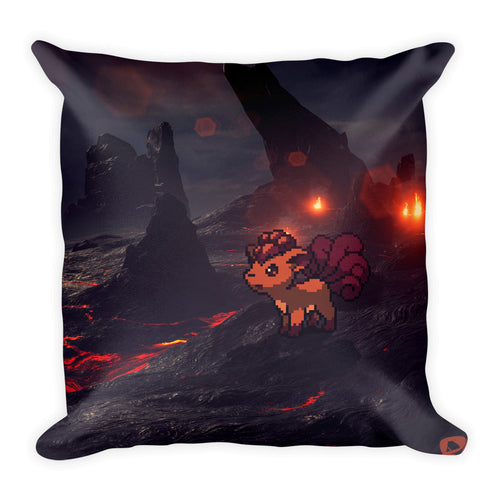 Pixelmon Square Pillow - Vulpix