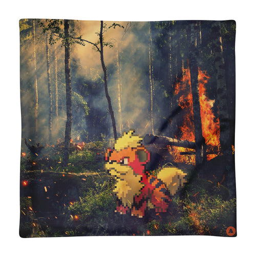 Pixelmon Cushion Cover - Growlithe