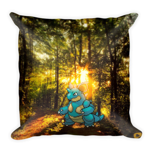 Pixelmon Square Pillow - Nidoqueen