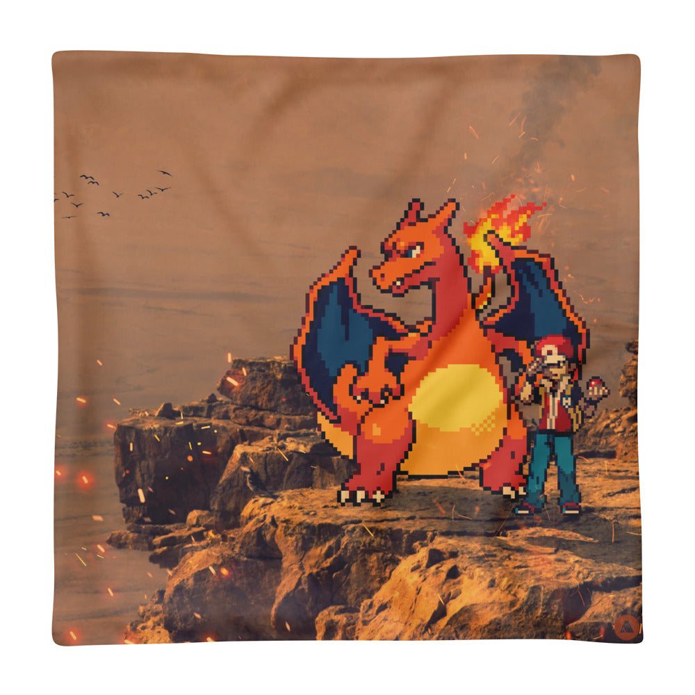 Pixelmon Cushion Cover - Charizard