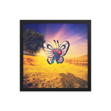 Pixelmon Framed poster - Butterfree