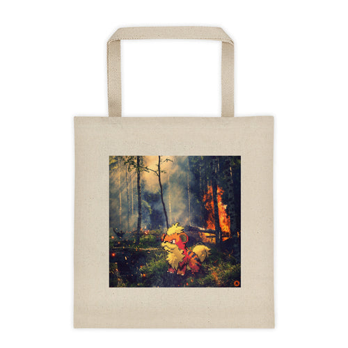 Pixelmon Tote Bag - Growlithe