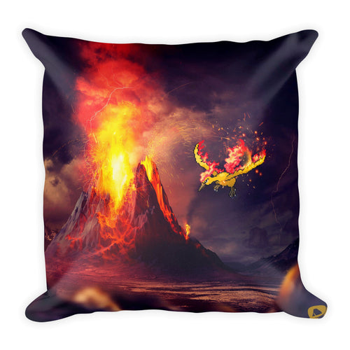 Pixelmon Square Pillow - Moltres